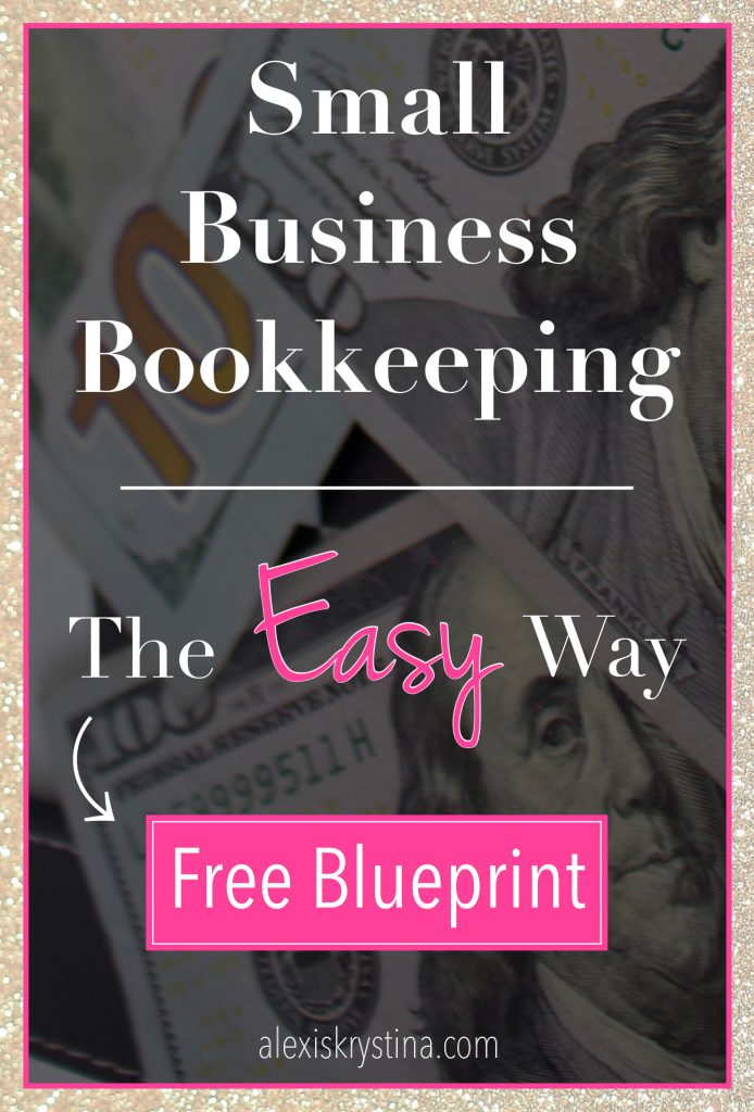 Small Business Bookkeeping Made Easy | Grab your free small business printable to learn how to make bookkeeping and taxes really easy. Learn how to organize your small business finances and how to make sure you get all your small business tax deductions #financialtips #freelancer #womeninbusiness
