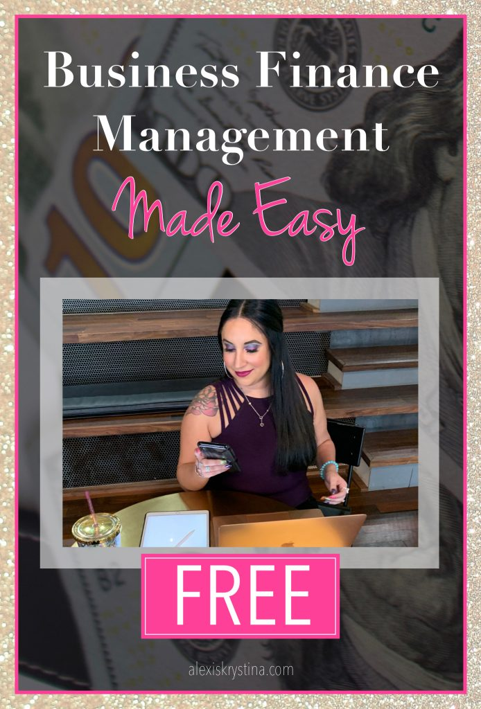 Business Finance Management Made Easy | In this free business finance printable, you'll get the top tax and bookkeeping tips for small business owners to organize their business finances. #smallbusiness #financialtips #womeninbusiness