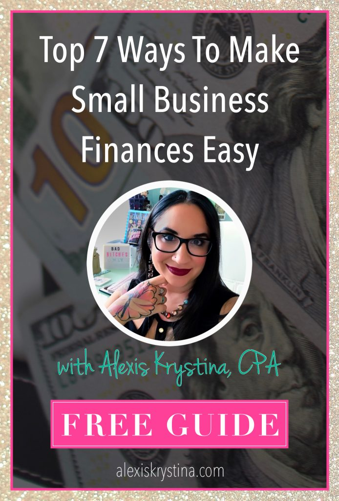 Easy Setup for Business Finances | Learn the top 7 ways that small businesses can organize their business finances and manage their bookkeeping. This free guide for small business owners teaches you how to get your bookkeeping setup right.
